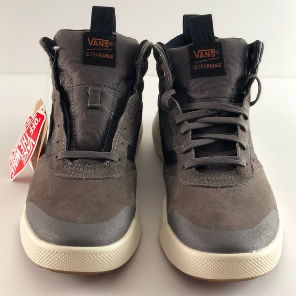 5789559fecc4 NWT Vans UltraRange HI MTE Pewter Skate Shoes